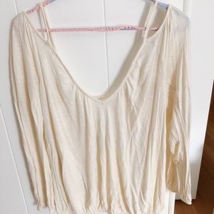 Free People Adelia Blouse- Size Small
